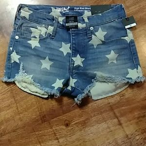 Mossimo Stars Cut off Jeans